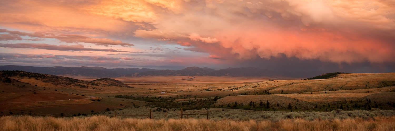 Summer Sunset in Montana